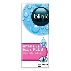 BLINK Intensive Tears Liquid gel 10ml bottle pink