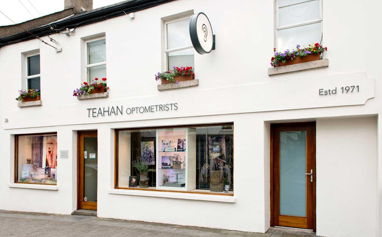 Teahans - Shop Front