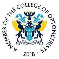 College-of-Optometrists-Member-2018-White